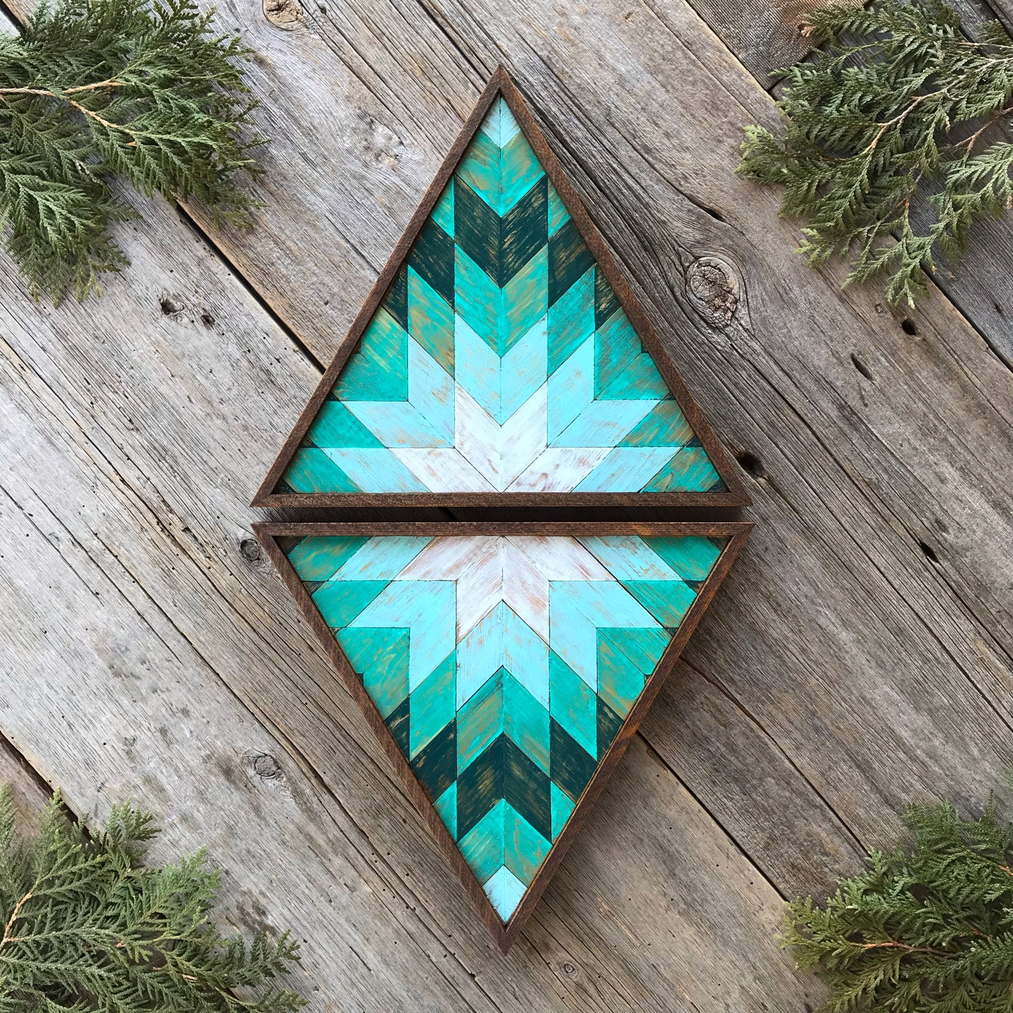 Star, Geometric Patterns, Triangle Wall Decor