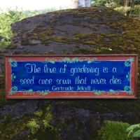 Garden Quotes, Handmade Wood Signs, Garden Art and Decor, Gift Idea for Gardeners, Custom Wood Signs