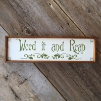 Garden Sign, Garden Quotes, Sayings about Gardening, Gift Idea for Gardeners, Handmade Wood Signs