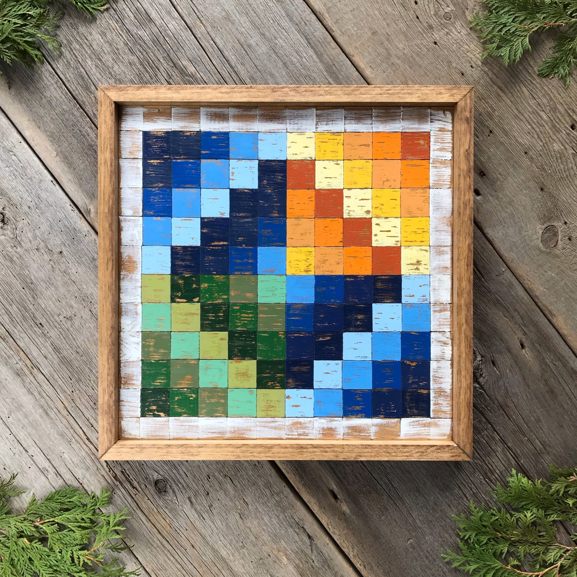 Barn Quilt, Wood Quilt Square, Wooden Barn Quilt Blocks