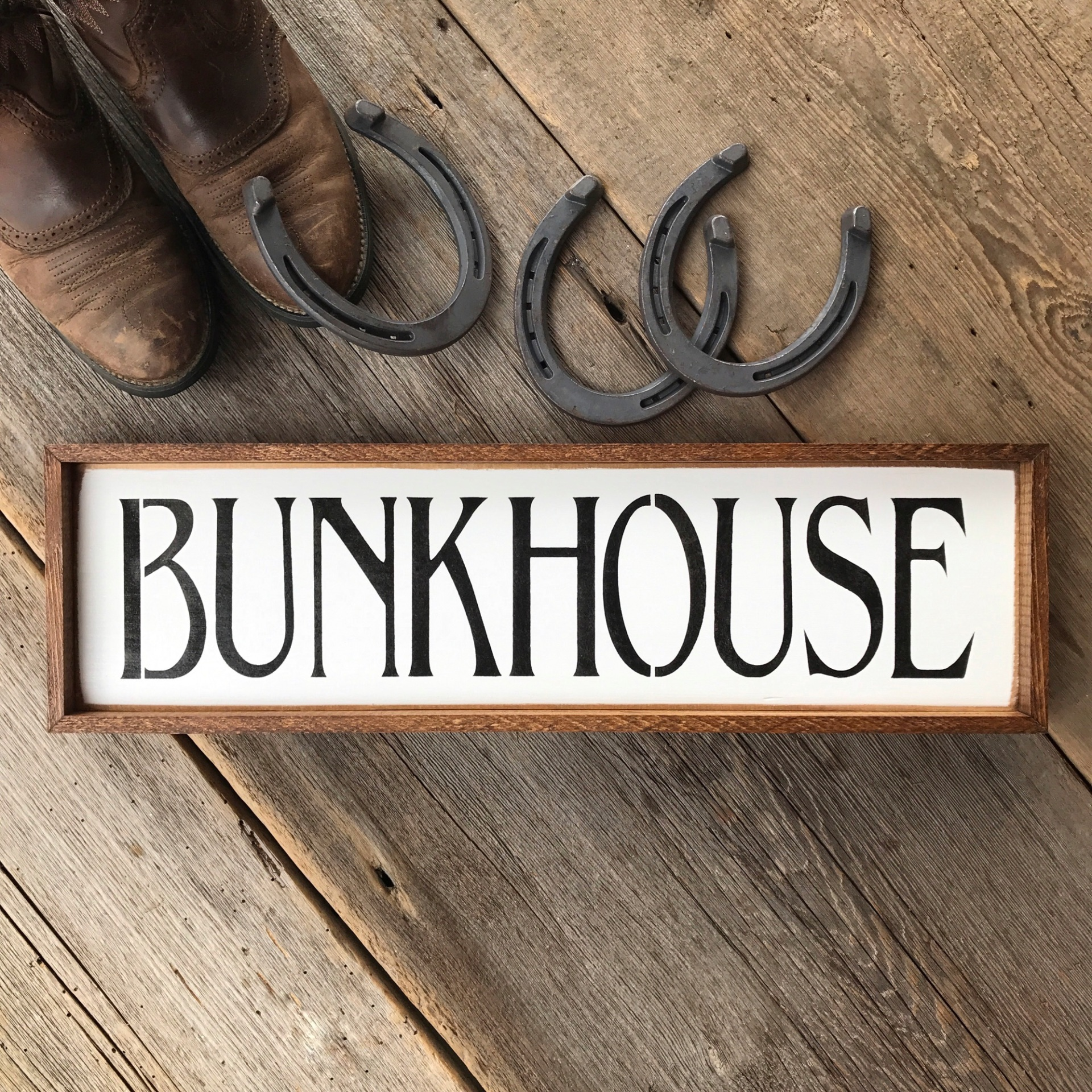 Bunkhouse, Wood Signs, Western Home Decor, Western Ranch Decor, Front Door, Porch, Entryway Decor